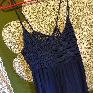 BOHO BLUE DRESS